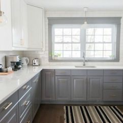 Kitchen Cabinets White Cute Curtains 21 Ways To Style Gray With