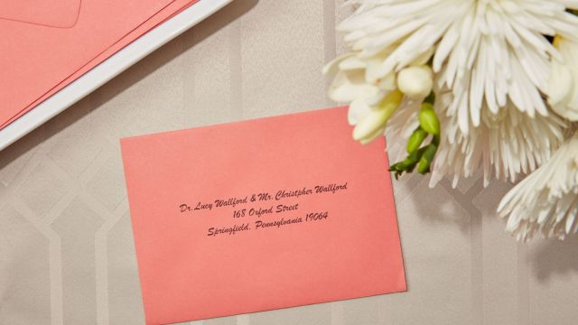 Proper Etiquette for Addressing a Wedding Invitation to a Doctor