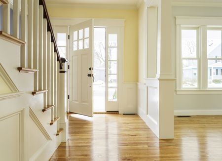 Is A Staircase Facing The Front Door Bad Feng Shui   Front Side Staircase Design   Out Staircase   Gallery Photo Indian   Outer Wall   Home Front Arch   Indian Style