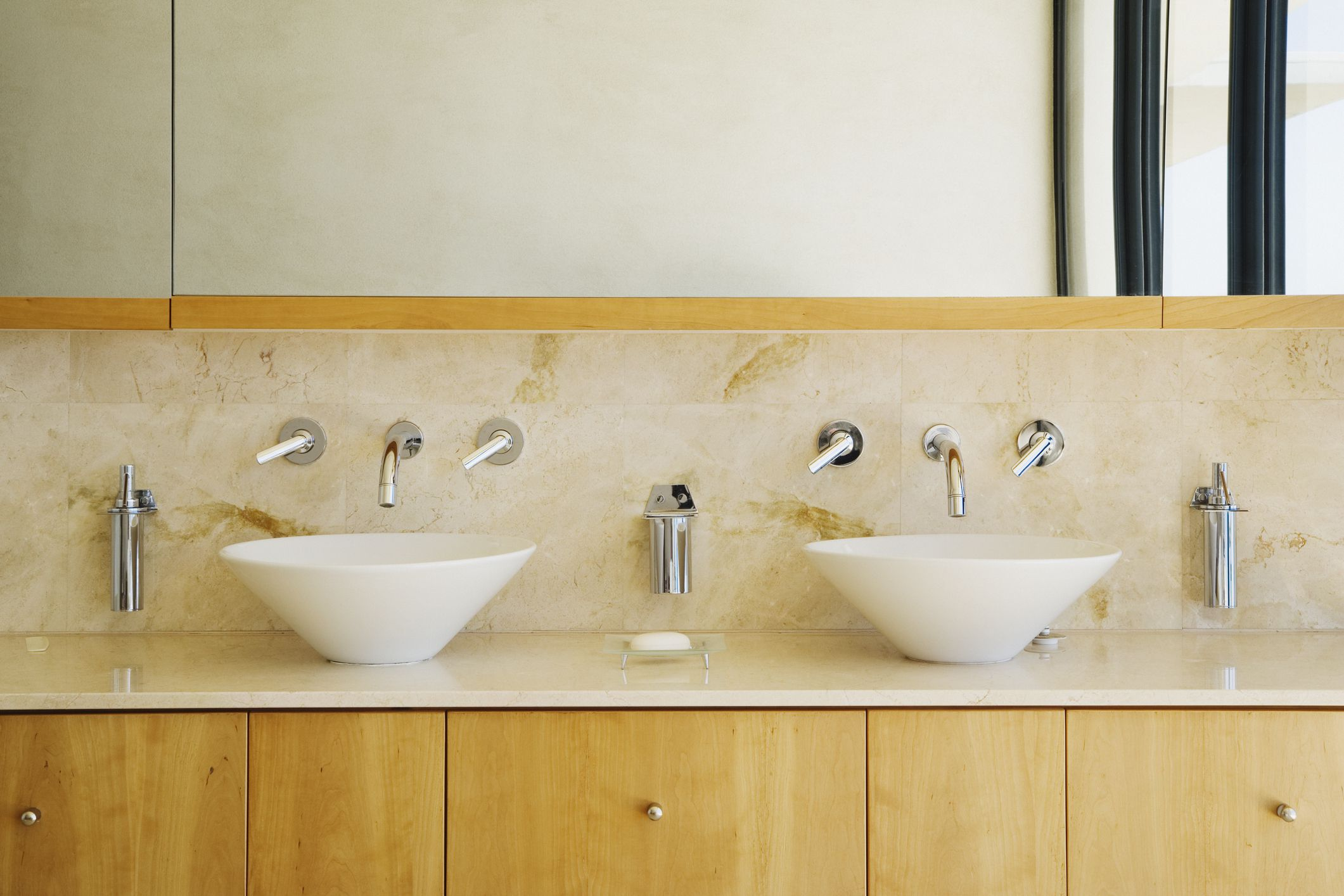 ideas for bathrooms with double vanities