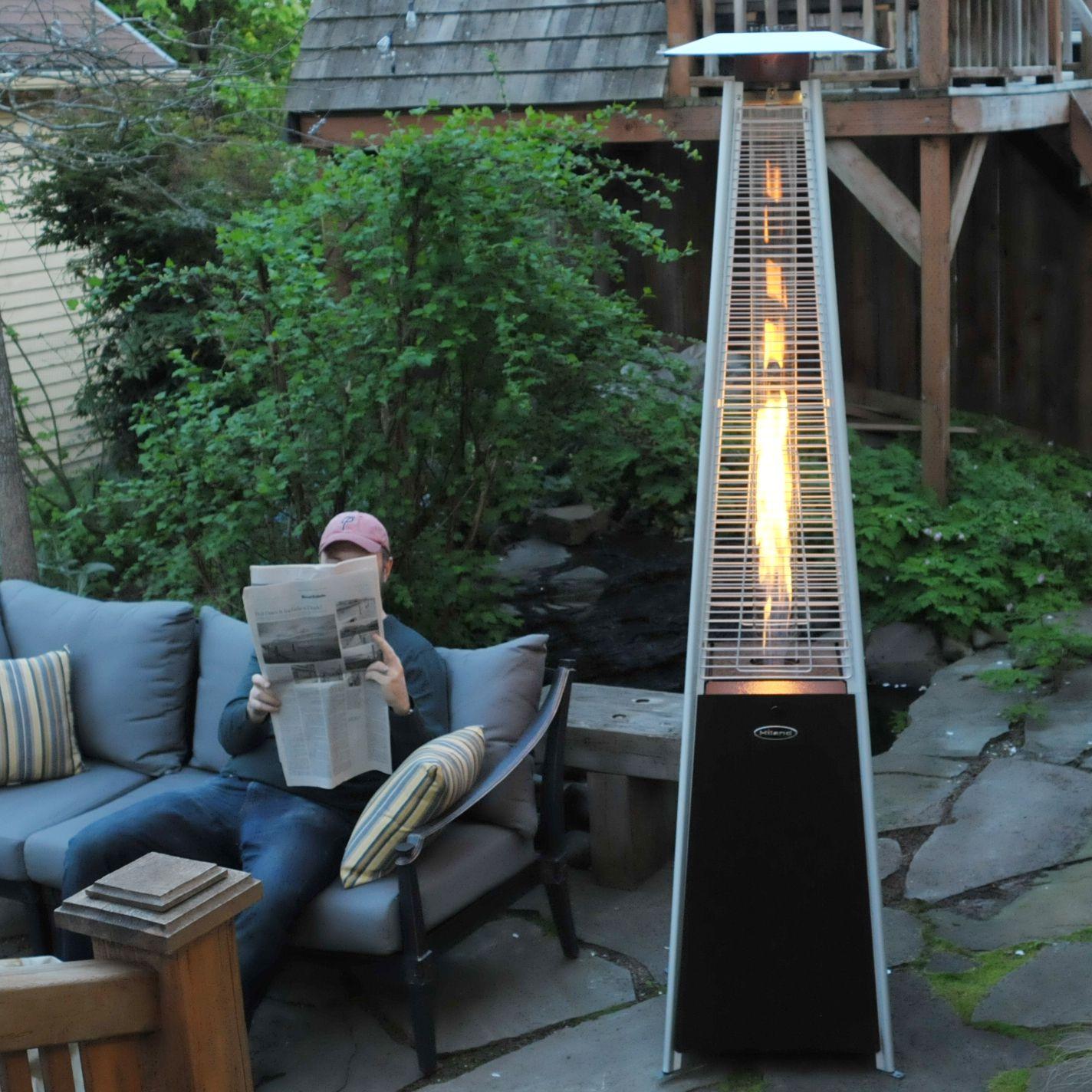 az patio heaters hammered bronze patio heater