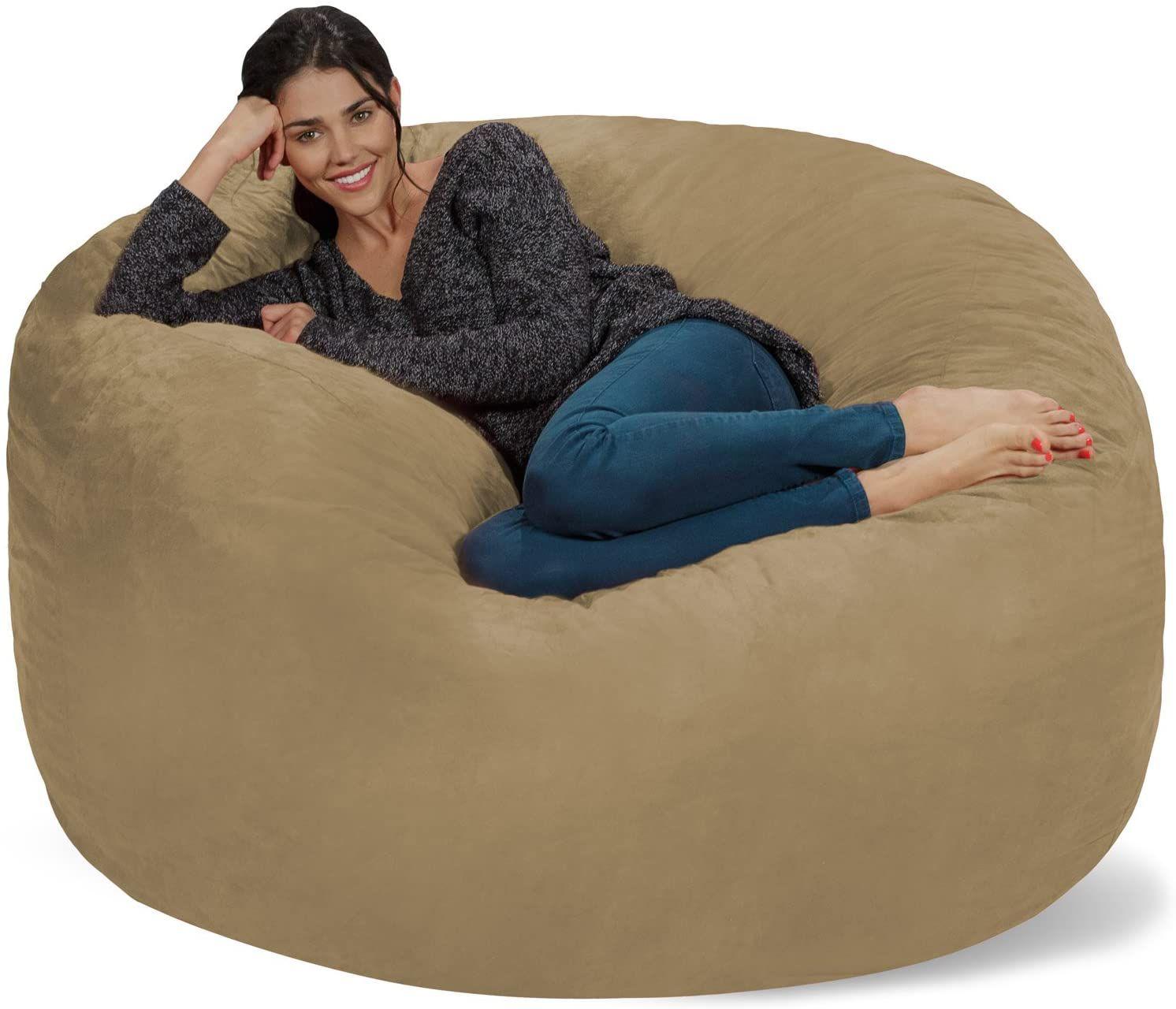 تتعارض شخص تصرخ huge bean bag chair lovesac