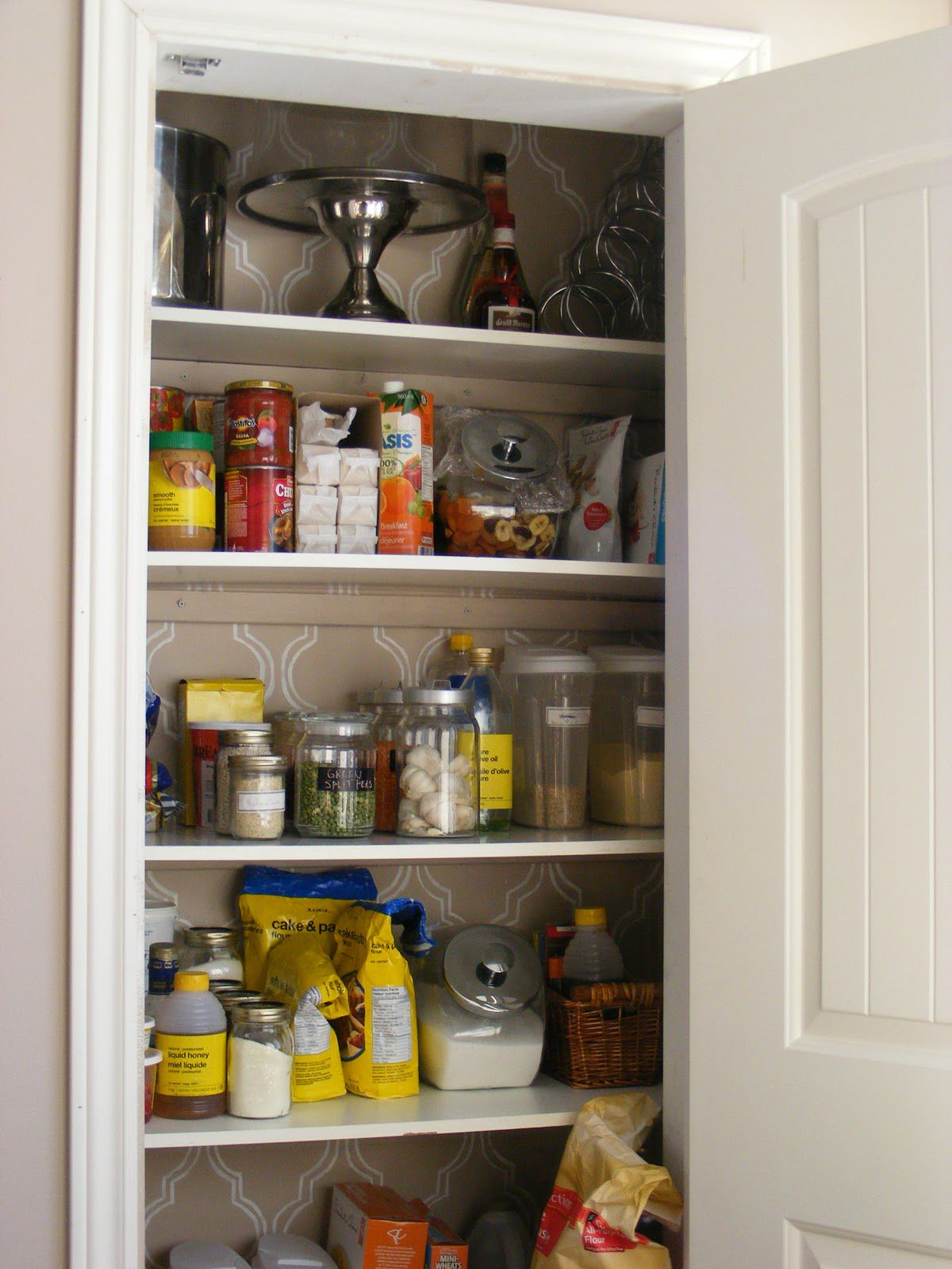 kitchen pantry storage rolling island organize your with simple and inexpensive ideas