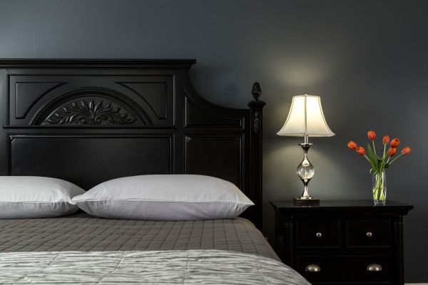 dark bedroom wall idea Decorating Ideas for Dark Colored Bedroom Walls