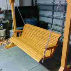 Swing Chair Home Town Vintage Convertible High 12 Free Porch Plans To Build At A In Garage
