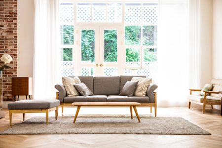beige color palette living room ideas with dark brown leather sofas how to use neutral colors in interior design shot of a modern