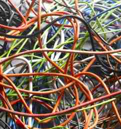 tangled electrical wires [ 2003 x 1500 Pixel ]