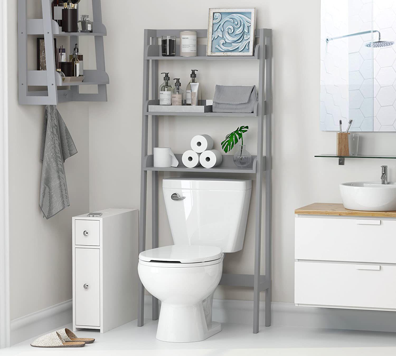 the toilet storage units