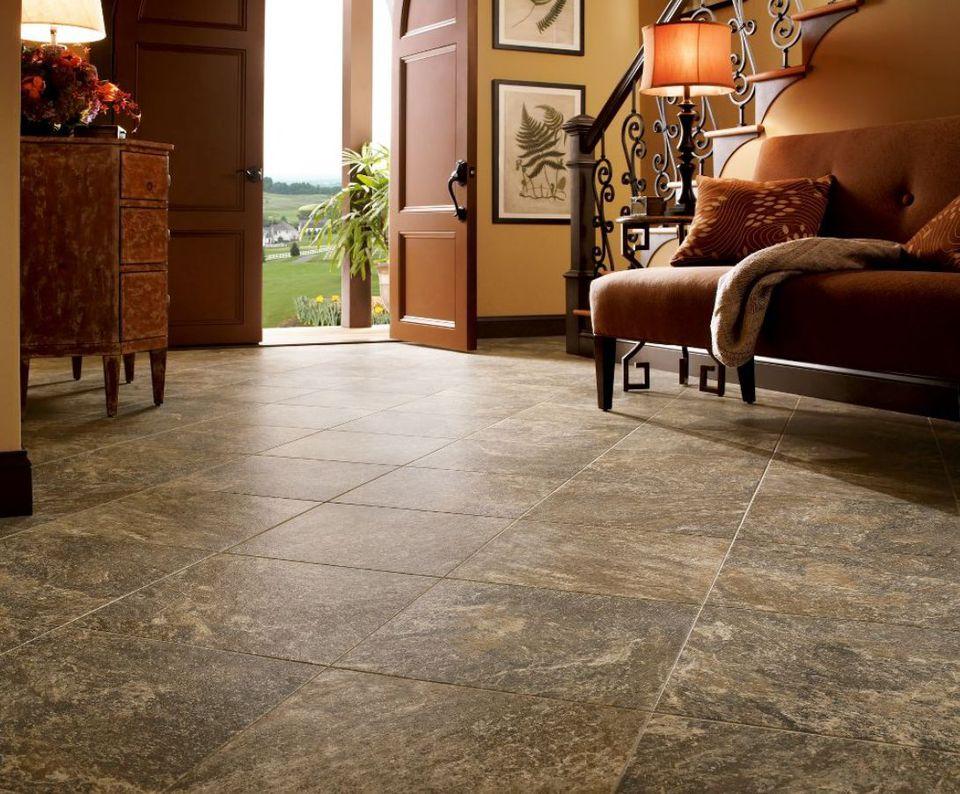 luxury vinyl flooring tile look vinyl