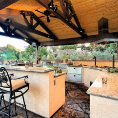 Backyard Kitchen Designs Washable Rugs For Outdoor Pictures And Ideas