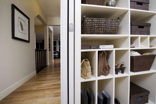 clever handbag storage ideas
