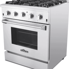 Best Kitchen Stoves Island Ikea The 7 Gas Ranges To Buy In 2019 For Gourmet Cooks Thor Hrg3080u 30 Freestanding Range
