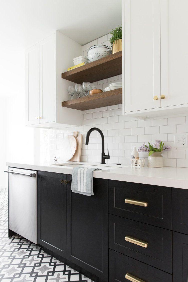 open kitchen sink stainless steel backsplash 10 beautiful shelving ideas