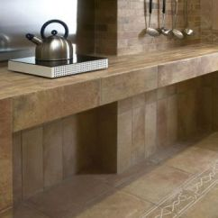 Tile For Kitchen Countertops Tall Pull Out Cabinets 11 Counter Ideas Kitchens And Baths Modern Italian On Countertop