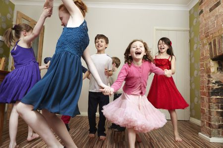 dance party and music