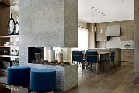 Double Sided Fireplaces To Make Your Home Modern And Cozy