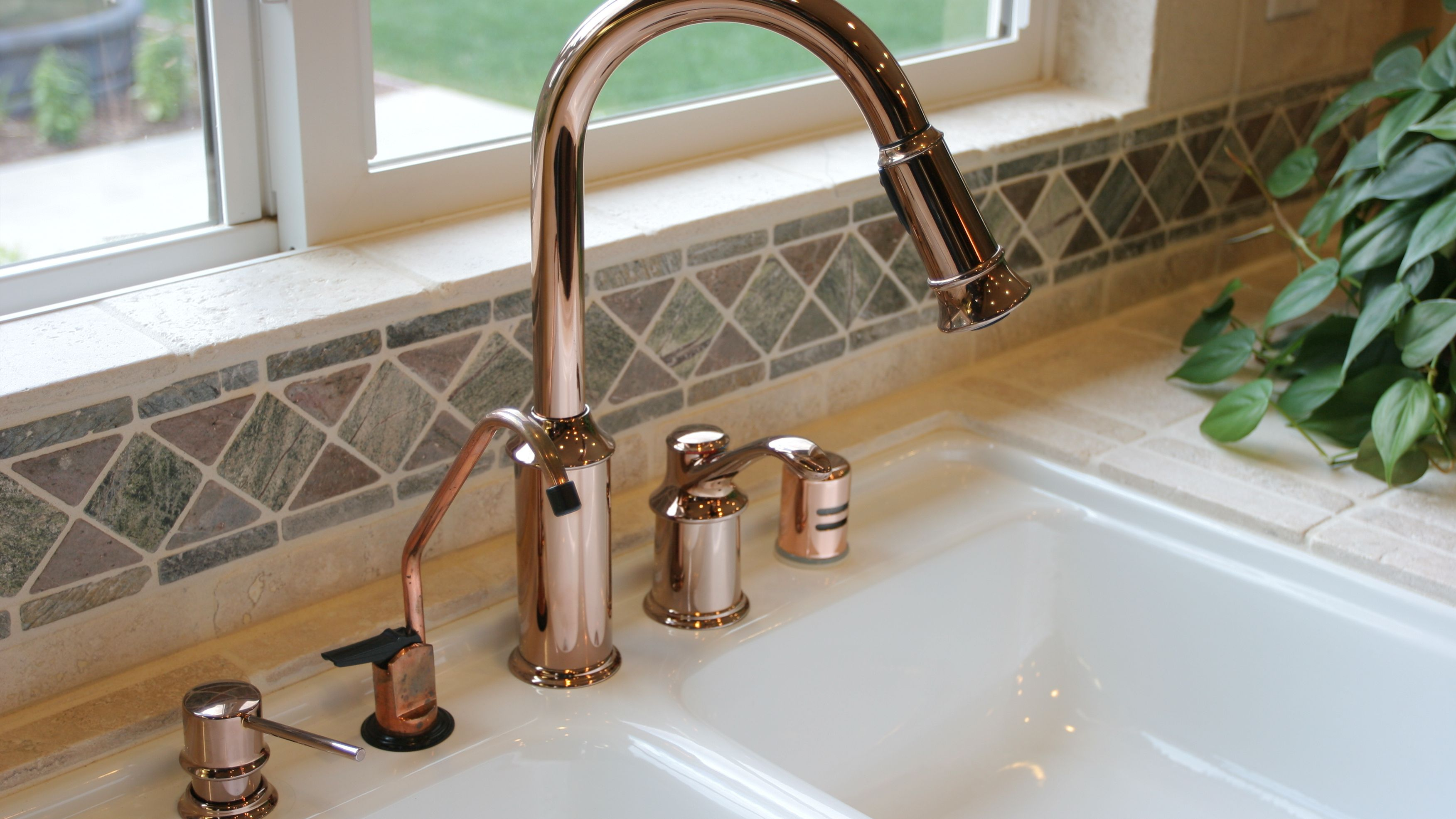 how to install a kitchen soap dispenser