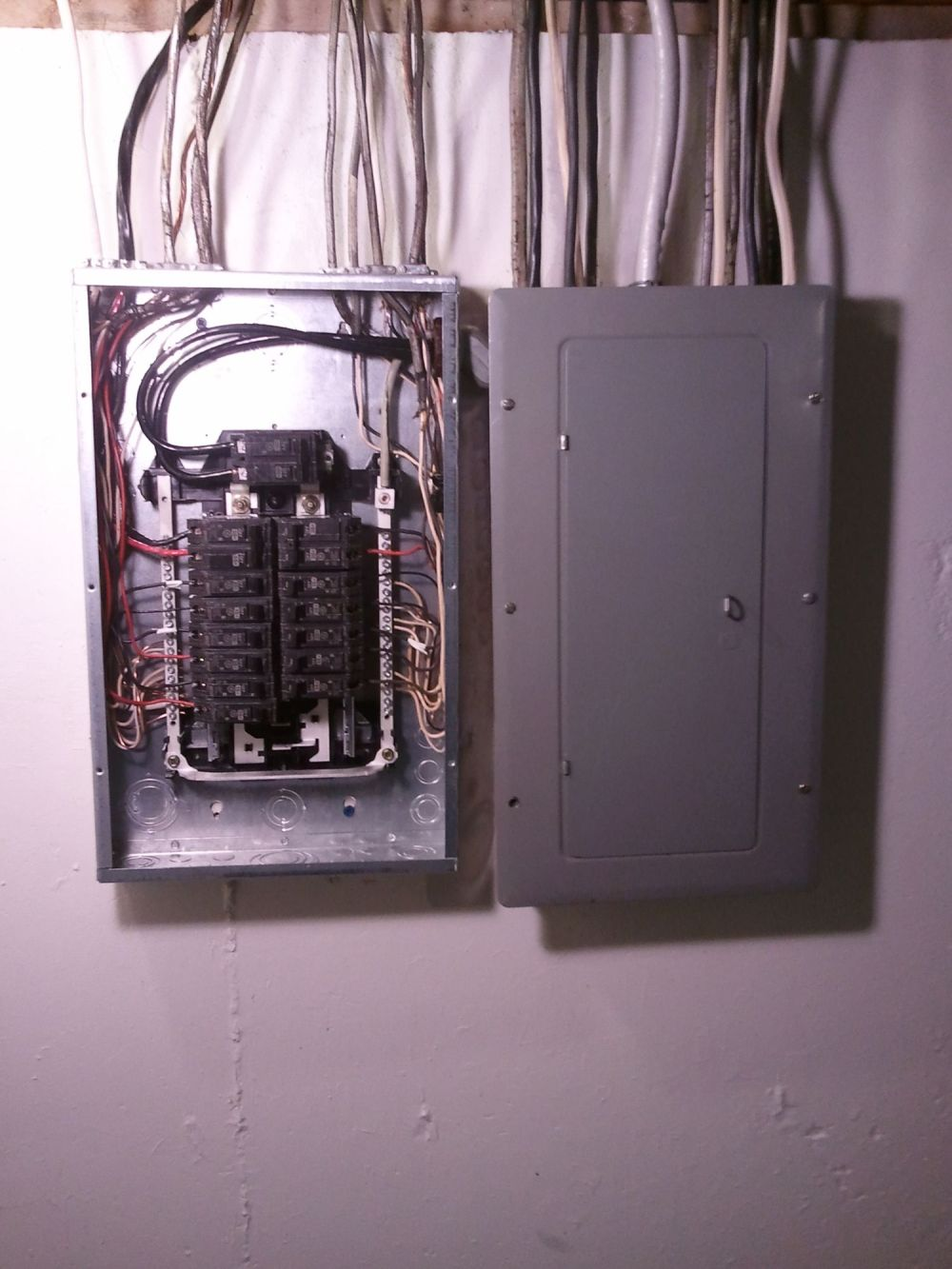 medium resolution of wiring electrical sub panel and panel