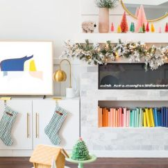 Beautiful Living Rooms At Christmas Light Blue Room 21 Ways To Decorate The For A Bright And Fun