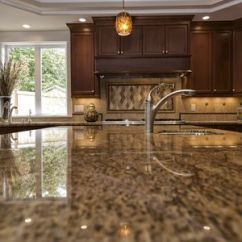 Granite Kitchen Countertops Pictures Wall Coverings 20 Options For Should You Choose Quartz Or Laminate
