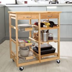 Cart For Kitchen Cabinets Shelves The 8 Best Carts Of 2019