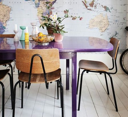 5 colorful dining room
