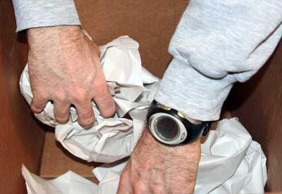 Paper in Bottom of Box