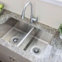 Ss Kitchen Sinks Counter Height Table Popular Stainless Steel Moen 1600 Series Sink