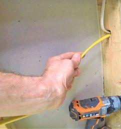 horizontal wiring home plan [ 2080 x 2010 Pixel ]