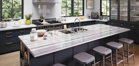 pictures of laminate kitchen countertops cabinets phoenix area 18 stylish kitchens with faux marble countertop