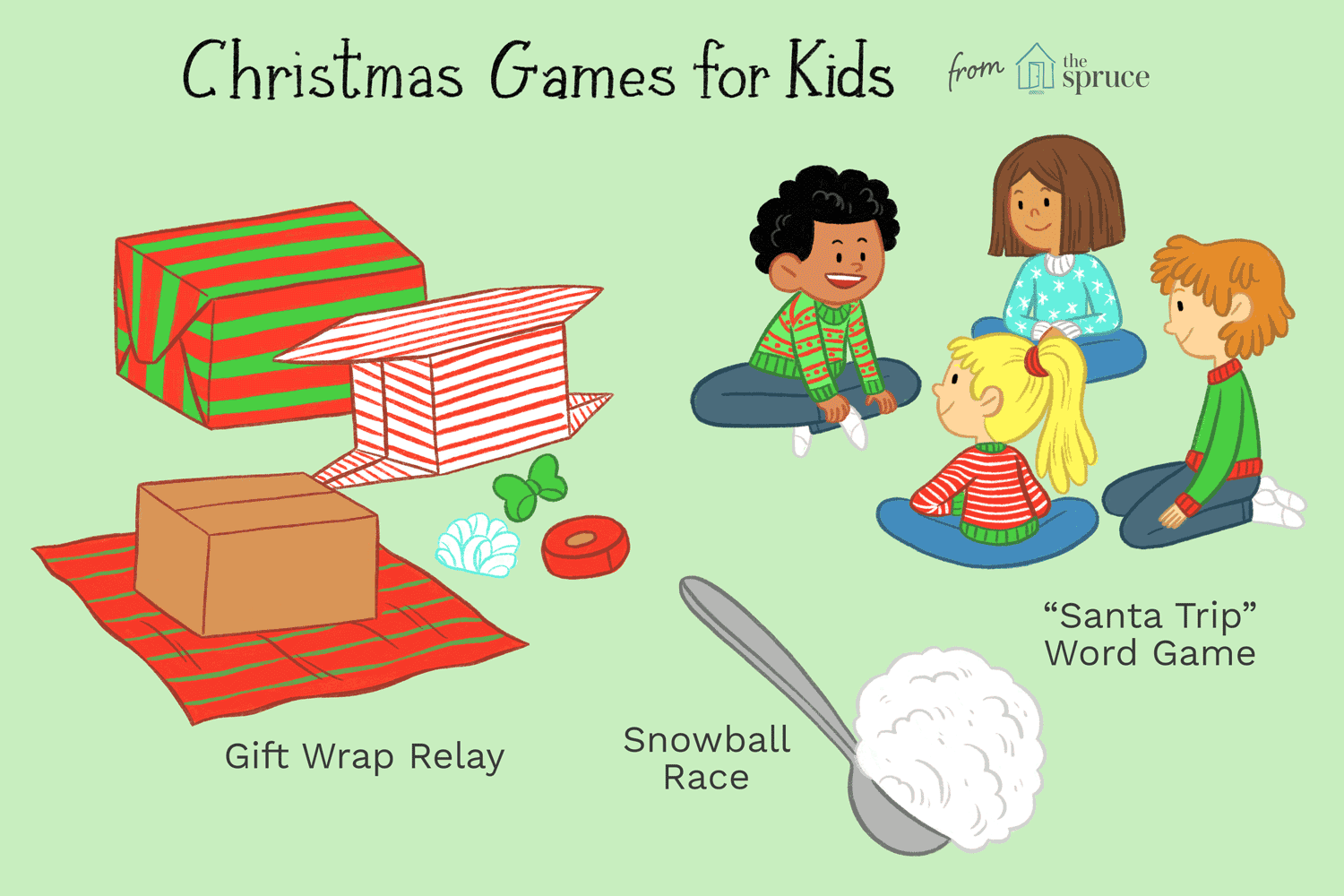 our favorite christmas games