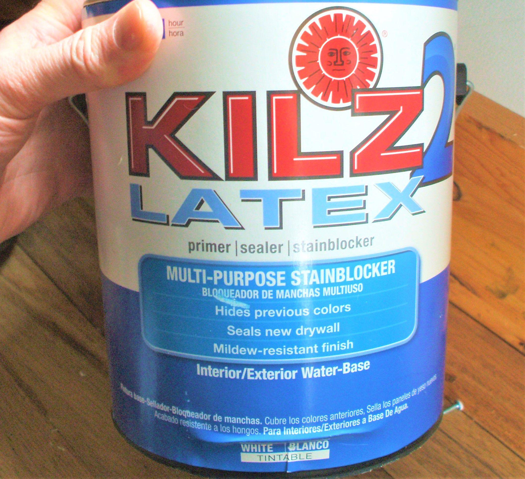 Kilz Paint Review StainBlocking WaterBased Primer