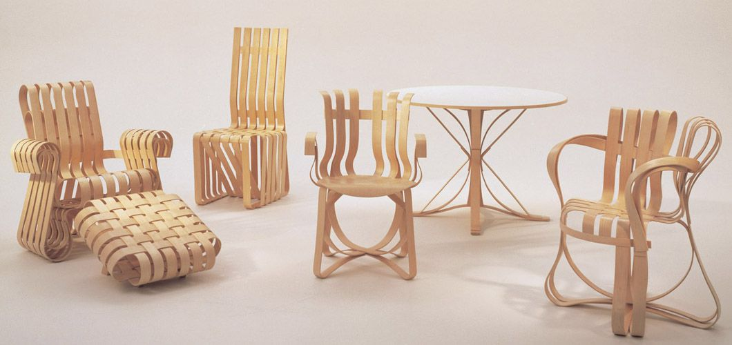 frank gehry chair chairs for farm table design geek the groundbreaking furniture designs of
