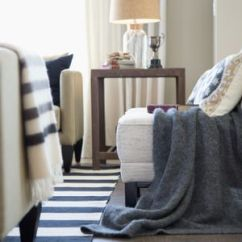 Living Room End Tables Small Arrangement With Tv What To Look For When Shopping Gray Blanket Over Chair In Elegant