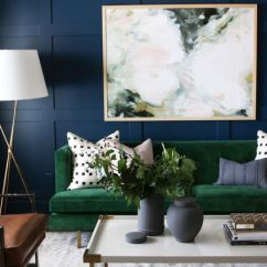 Color Schemes For Living Room With Green Sofa Ideas Decorating My 17 Rooms Dark And Moody Blue A Couch