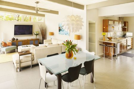 colors to paint living room old furniture tips for choosing interior bright and dining kitchen with cream walls
