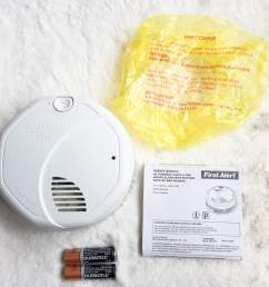 this smoke detector to family and friends as well as buy it for themselves the instructions to test the alarm were easy the battery install  [ 1500 x 1125 Pixel ]