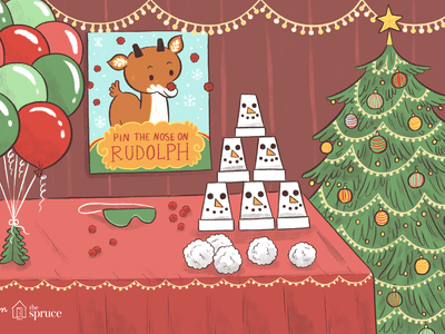 35 christmas party games
