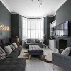 Living Room Decorating With Black Furniture Paint Colors Beautiful Gray Ideas Contemporary Dark Grand Design London
