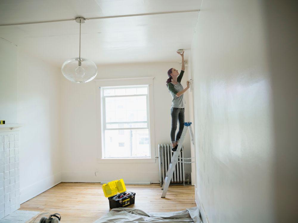 medium resolution of wiring smoke detector for home