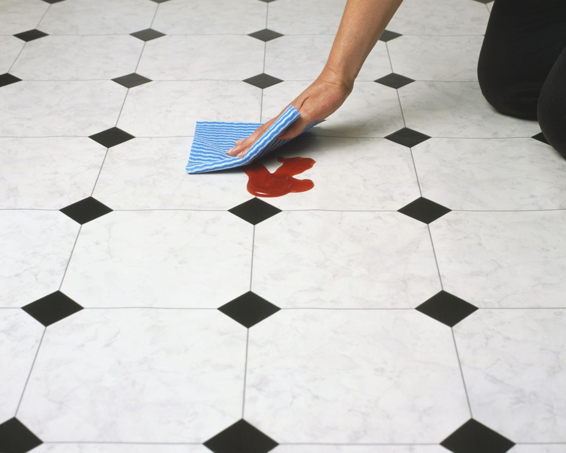 how to lay linoleum green flooring