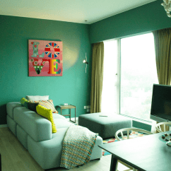 Green Living Room Walls Modern Country Style Designs Ideas