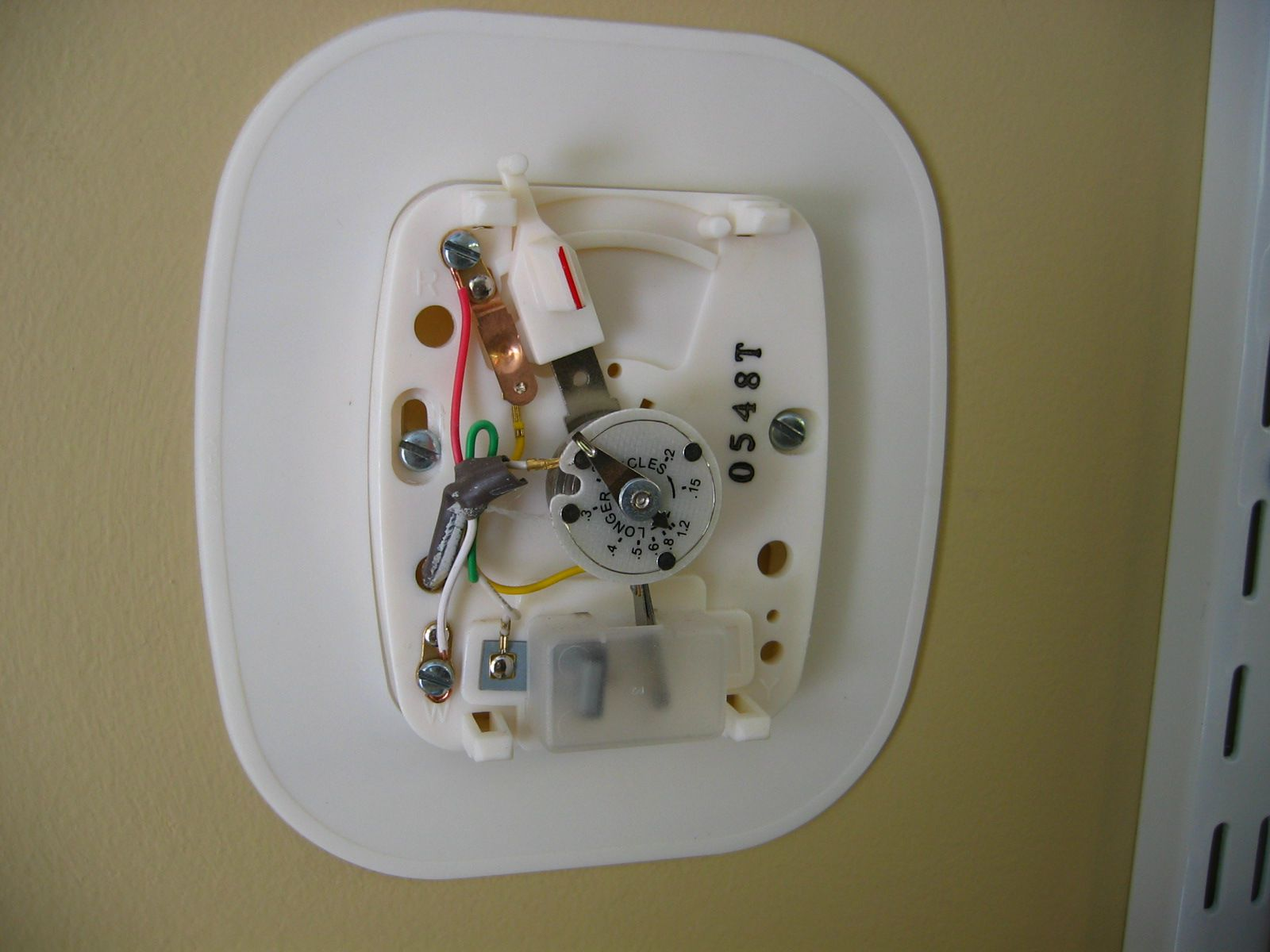 hight resolution of old mercury thermostat wiring