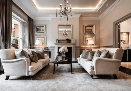 15 traditional living rooms