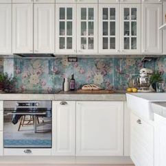 Tin Kitchen Backsplash Large Cart The Best Materials Make Over Your Rental With A Removable