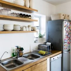 Wood Shelves Kitchen Ikea Countertop Installation Kitchens With Open Shelving Pictures And Advice Simple Opening