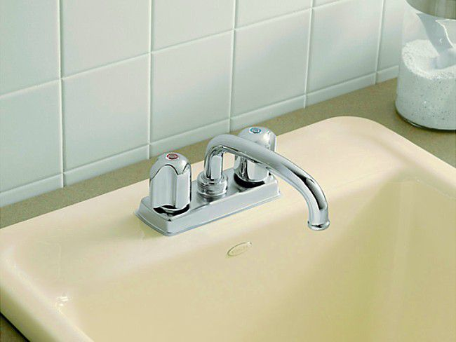 kitchen faucet handle island casters repair a compression (washer)