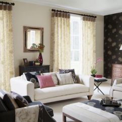 How To Design Curtains For Living Room French Country Sofas Designer Tips On Hang Drapes