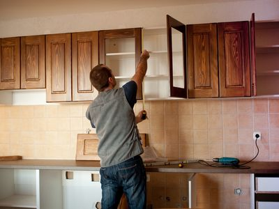 kitchen cabinet photos long curtains 10 ways to decorate above your cabinets what know about standard dimensions