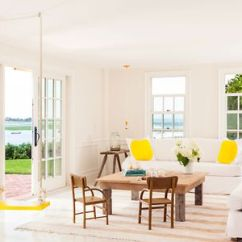 Cape Cod Style Living Room Design Light Green Accessories Create A Cozy Cottage Inspired Interior With Swing Alys
